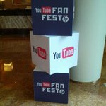 I'm in Singapore. Just saw the sign for tonight's #YouTube #fanfest