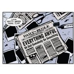 RT @ezraklein: All of journalism, in one comic book frame. I need to get this blown up and framed. http://t.co/8cqZHZ78Ph