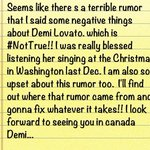 &quot;@psy_oppa: message to @ddlovato and her fans http://t.co/3jAq3NxGa7&quot;   thanks for clarifying and sorry for the trouble.