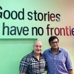 Had an interesting chat with Arnab Goswami in his office. I like his passion for Life & News.:) http://t.co/uqIDthqnys