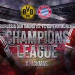 RT @FCBayern: The #UCLFinal week has started. #Packmas #MiaSanMia http://t.co/nNzv517N5r