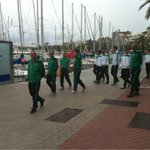 Paseo del Real Betis por Palma tras el desayuno http://t.co/4L4ahNXqDU