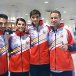 4 DEPORTISTAS DE BALEARES A MANCHESTER CON LA SELECCIN ABSOLUTA DE TAEKWONDO. MARIO, MNDEZ, LONGOBARDI Y ROSILLO. http://t.co/ysBAs50MWN