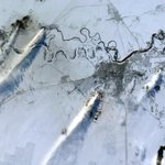 RT @Cmdr_Hadfield: Hot smokestack exhaust streams in the harsh wind across a central Asian winter landscape. http://t.co/07NlRmtaKK