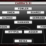 Carra's ultimate XI: