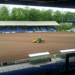 Pitch making progress ... @FCHTOnline http://t.co/sFw7PXounc