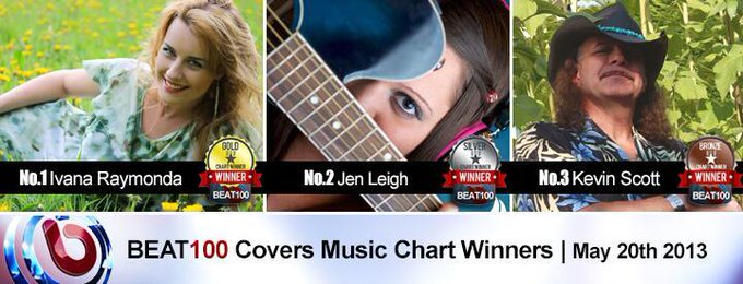 "WE DID IT! #1 place on BEAT100 & a most viewed award GOLD ♥ :) THANK YOU SO MUCH! SO HAPPY! MUCH LOVE ♥♥♥.  Ivana <a class=""linkify"" href=""http://t.co/ucji4312Xq"" rel=""nofollow"" target=""_blank"">http://t.co/ucji4312Xq</a>"