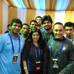 Puneeth Rajkumar at the event of TCS World 10K Marathon http://t.co/dgQoIdSBa1