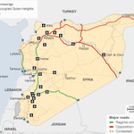 RT @BBCNewsGraphics: MAP: Who controls key strategic roads in #Syria ? http://t.co/G0qSmuYfjG