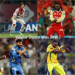 RT @Collectabillia: Whose dance moves are the coolest? #Cricket
