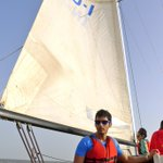 evening sailing session in mumbai...pure bliss being out in the ocean.