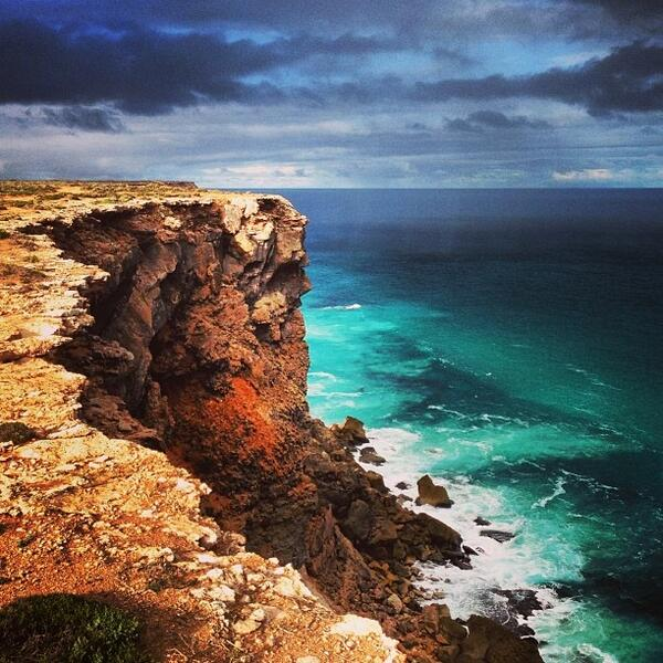 Love this shot of the #GreatAustralianBight by @emjayi! (Shared via Instagram) http://t.co/y7a2lIT7d1