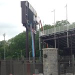 &quot;@VT_Football: RT @VTPromos: Deconstruction has begun on the old video board in Lane http://t.co/pjRYfX1gmh&quot; @rowdiehokie