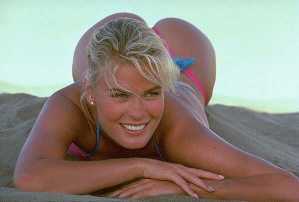 Swimsuit Flashback: Who remembers the great Vendela Kirsebom? (photo by Robert Huntzinger) http://t.co/bWmx5Y8LFO