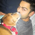 "And this pic made my day <3 cutest boy alive :* ""@imVkohli: Time for a goodnights sleep at home http://t.co/p7b1qIPSAx"""