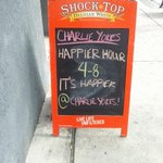 Its time for Happier Hour @CharlieYokes http://t.co/WMLgswh2IU