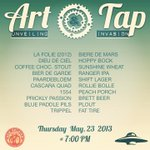 Our friends from @newbelgiumbeer will be here Thurs. for a Custom-Art unveiling and a huge Tap Invasion (20 drafts)! http://t.co/LhVwYyNzKe