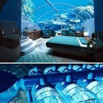 RT @ThatsEarth: The Poseidon Resort, Fiji. You can sleep on the ocean floor.