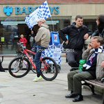 I wasnt the only Bolton fan at the Wigan parade today. This man is brilliant! http://t.co/66XpdSlXlJ