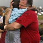 MT @JeffersonObama America at her finest moment in #MooreOK. Teacher embraces a student pulled from rubble. http://t.co/YwVm3gUj4e