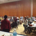 Standing ovation for Bernie -Jesse #Respect #SunRotaryBanquet http://t.co/MMZo6g3XTl
