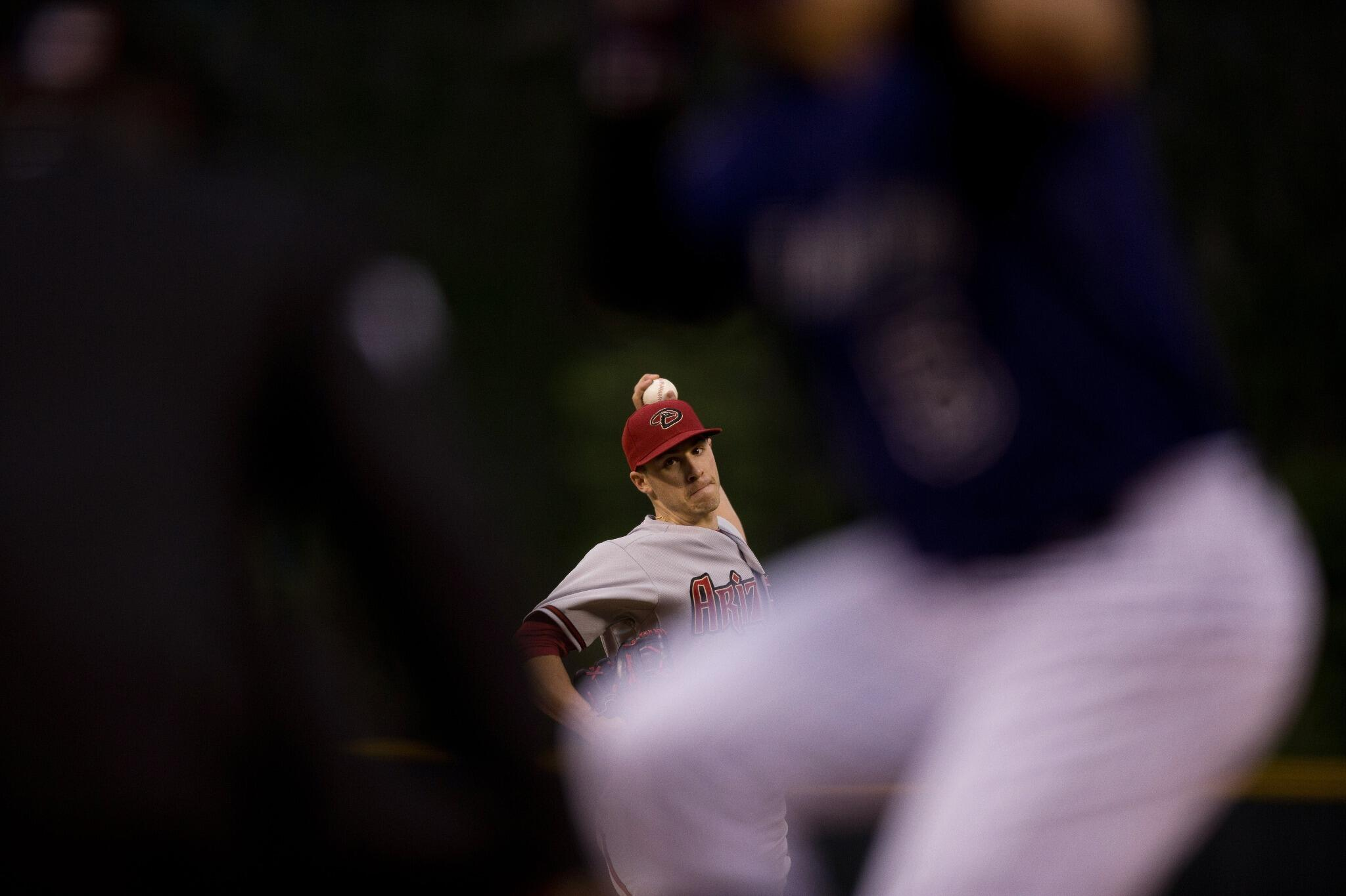.@PatrickCorbin11 threw 3 pitches or less to 20 of the 31 batters he faced. #Dbacks #iBackCorbin http://t.co/axb3yYkAg0