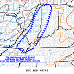 The Storm Prediction Center is considering a TStorm Watch for western Indiana. Damaging wind would be main threat. http://t.co/XL9MFRaykc