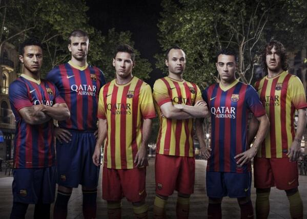 RT @KevinAirs442: Well, this sorts out my quest for a retro Partick Thistle shirt… the new Barca tops for next season: http://t.co/iGZ1rgjP…