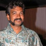 Rajamouli's boisterous look for movie #Baahubali http://t.co/IUThB5sg0r