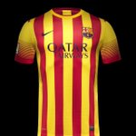 RT @INDOBARCELONA: Official: Jersey away @FCBarcelona musim 2013-2014 | fcb #BarcaNews http://t.co/OwEXPzch6A