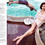 One of my fave shots in alibaugh. Styled by Rhea kapoor. Shot by r burman. Sonam kapoor sizzles like heat @filmfare