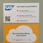 Cool new #saphanacloud business cards for tomorrows conference :) http://t.co/v7FyGzIzA9