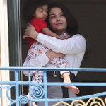 Aishwarya Rai with her daughter Aaradhya Bachchan at Cannes film festival! http://t.co/JqR1ZPEr8f