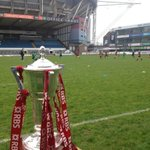 The 6Nations trophy is down at CAP today for the Arms Park Festival with school kids from across the region! http://t.co/MMhXP4wyBC