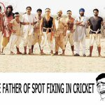 :-) RT @dugarsanjay: Who is the father of spot fixing in Indian Cricket ---->  Lakha. @LalitKModi @Laugh_Riot http://t.co/utZEclhXlU