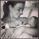 Aw lovely pic of precious moments! > RT @ColeenRoo: Thanks everyone for the lovely messages!! http://t.co/Hv8lsSVTqn