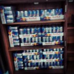 That should last a week.. RT @Submergemusic: Thanks to @inRedBull for giving us wings :)