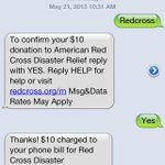 Help with disaster relief. Its easy. Text REDCROSS to 90999 to donate $10 right from your phone. http://t.co/XTW1aVdeia