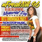 #FreakNik96 this Friday @ #MansionElan! http://t.co/YVzk6RgRvQ