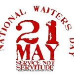 Happy National Waitress/Waiter Day!  BIG SHOUT OUT to our friends who work in the industry! http://t.co/av5xDAoVGM