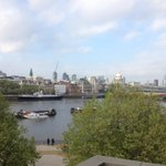 Not a bad view from my workplace :) ITV studio in London!