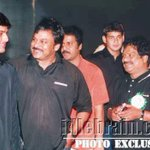 RT @actor_nithiinFC: Cute pic:- @actor_nithiin , @urstrulymahesh n Chiranjeevi gaaru in one frame. Plss RTT