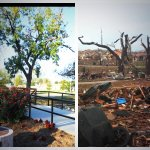 昨日の竜巻の前と後。怖いよね。Before&After pics of the tornado in Oklahoma yesterday RT @MelissaNewtonTV @KIRO7Seattle http://t.co/SA2USwTSNx