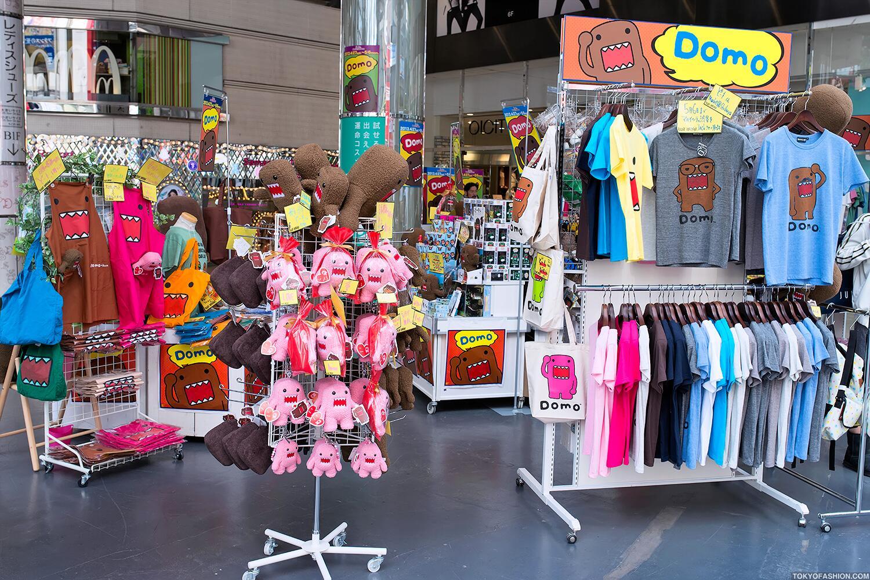 Photo: Domo-kun popup shop outside of the Marui Department Store in Shibuya http://t.co/tyU1rXYHGn