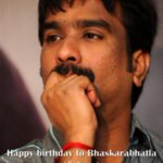 many many happy returns of the day to lyricist @bhaskarabhatla