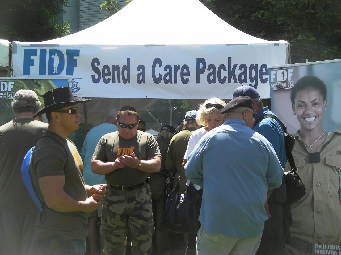 @FriendsIDF  FIDF booth at San Francisco's Israel in the gardens June 2, 2013 http://t.co/Pv94NsV9kV