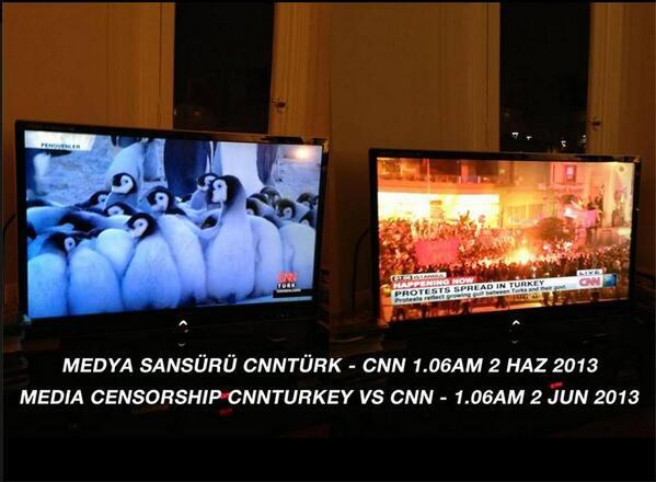 CNN Turkey vs. CNN International - http://t.co/VtWsAdaXoj 1.06am 2/june/2013 #Turkey @ASE