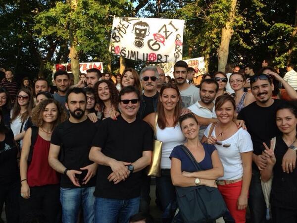 zeyno gunenc (@zeynogunenc): Cocuklar diymasin ekibi#gezide http://t.co/f1wAk9rUv7