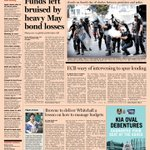 Here's a sneak peek at the front page of the UK Financial Times - 4 June 2013