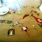 Another amazing meal at the Woodshop (in Clarkston, MI) with the fam. (Artwork sold separately) http://t.co/KO9snTAYss